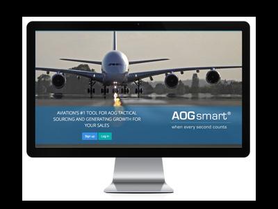AOGsmart login page