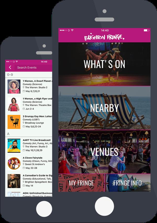 Brighton Fringe app