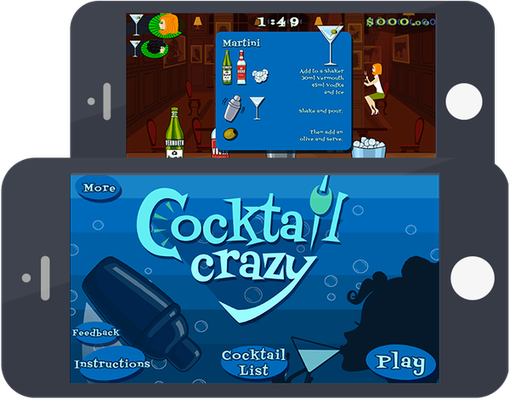 Cocktail Crazy app