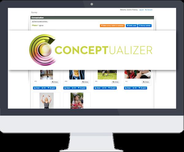Conceptualizer web application