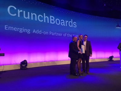 CrunchBoards award ceremony