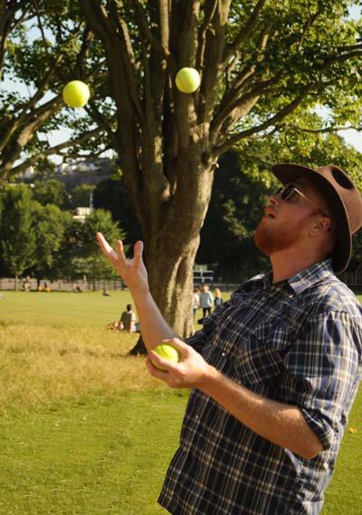 Juggling Jamie