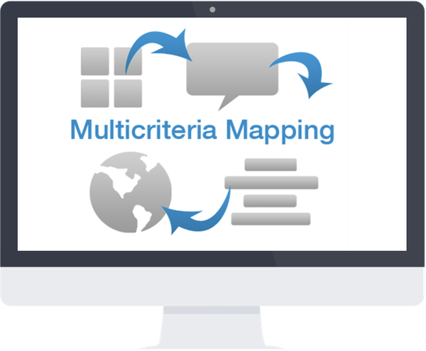 Multicriteria Mapping web application