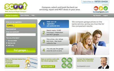 Scoot home page