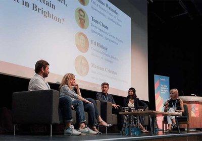 Discussion panel at Skills Summit