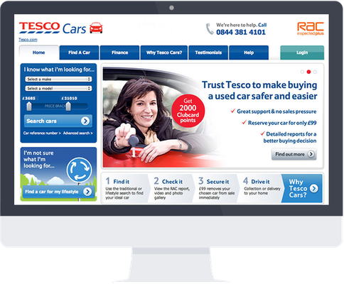 Tesco Cars web application